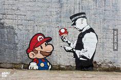 Banksy street art More