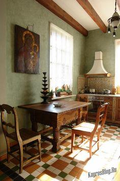 Русский стиль в интерьере современного дома #Русскийстиль #Русскийинтерьер…