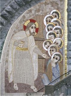 """""""Christ ressuscité"""", Lourdes"""