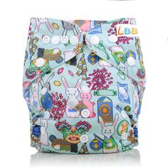 Amazon.com : LBB(TM) Baby Resuable Washable Pocket Cloth Diaper With Adjustable Snap, Animal : Baby