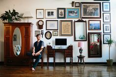 """The """"If Wes Anderson Became Set Decorator for Downton Abbey"""" Loft — House Tour"""