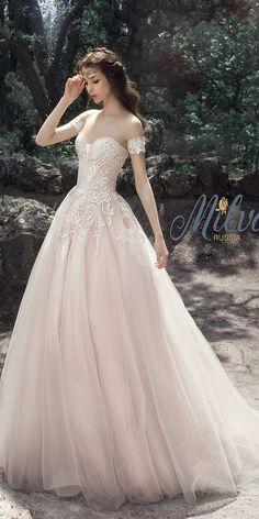 Milva Bridal Wedding Dresses 2017 Tamira / www.deerpearlflow…