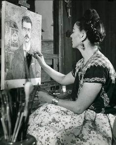 Excelente Pintora Mexicana