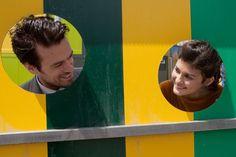 """""""Il me faudra des mois, des mois, pour que je me rassasie des baisers à vous donner. Il faudra des ans de mois pour épuiser les baisers que je veux poser sur vous, sur vos mains, sur vos cheveux, sur vos yeux, sur votre cou... """" Audrey Tatou and Romain Duris in Mood Indigo - L'Ecume des Jours (Michel Gondry, 2013)"""
