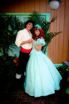 Princess Ariel and Prince Eric from The Littler Mermaid