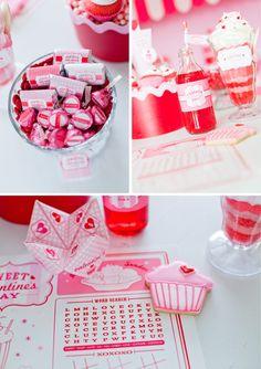 ピンクや赤のアイテムはバレンタイン気分を盛り上げます♪