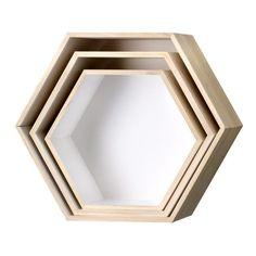Hexagon Shelf - £25.00 - futureandfound