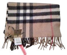 NWT Authentic Burberry Cashmere Scarf. Free shipping and guaranteed authenticity on NWT Authentic Burberry Cashmere ScarfUse code GIFT50 for $50 Off Now if this is your fi...
