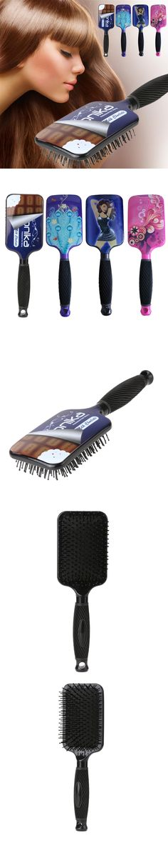 Hairbrush Hairdressing Styling Tools Large Paddle Hair Brush Leopard Print Hair Comb for Professional/Home Use