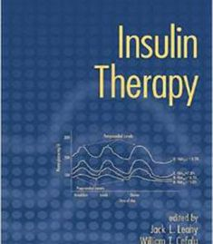 Insulin Therapy By William T. Cefalu PDF