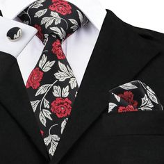 Now available on our store 2018 Red White Fl... Check it out here! http://www.maylinkstore.com/products/2018-red-white-floral-necktie-set?utm_campaign=social_autopilot&utm_source=pin&utm_medium=pin