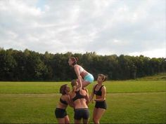 The complete list of basket toss variations (with videos) - Kate Boyd Cheerleading