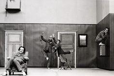 Christoph Marthaler, Quatuor pour la fin du temps. Foto: Bernd Uhlig
