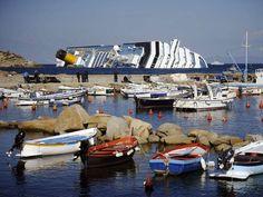 Costa Concordia: Sun, sea, sand... and shipwreck - the new attraction!