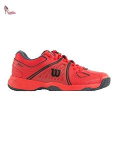 29e8491b4a7 WILSON NVISION CLAY COURT ROUGE COAL - Chaussures wilson ( Partner-Link).  Ryan Bolden · Wilson Shoes