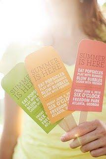 LOVE this idea for a B-day invite!!