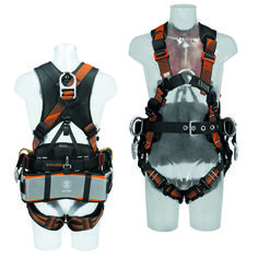 Skylotec Tower Pro AL Harness. Tower Climber, Survival Gear, Sling Backpack, Climbing, Backpacks, Legs, Accessories, Mountaineering, Backpack