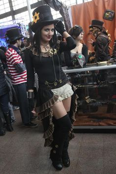 Steampunk outfit by ~SailorFran on deviantART
