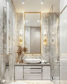 Dreaming of an extra or designer master bathroom? We have gathered together plenty of gorgeous master bathroom ideas for small or large budgets, including baths, showers, sinks and basins, plus bathroom decor suggestions. Diy Bathroom Decor, Bathroom Layout, Bathroom Organization, Bathroom Ideas, Bath Ideas, Bathroom Lighting, Bathroom Faucets, Remodel Bathroom, Bathroom Designs