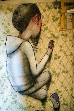 Artist Seth GlobePainter,
