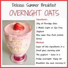 Overnight Oats :)