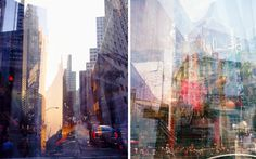 Multiple exposure photographs give an interesting twist to any landscape