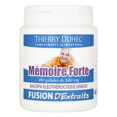 Fusion d'Extraits® Mémoire Forte - Thierry Duhec La boutique de Compléments Alimentaires