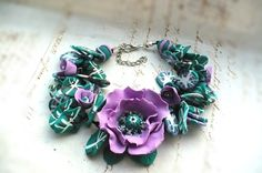 Chic violet poppie bracelet adjustable 15 euro Boho Chic, Bohemian, Summer Gifts, Uk Shop, Poppies, Euro, Bracelets, Handmade, Jewelry
