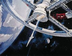 Space1970: 2001 A SPACE ODYSSEY Art by Bob McCall