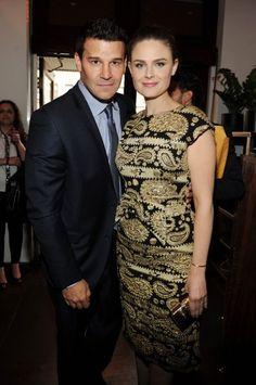 David Boreanaz & Emily Deschanel