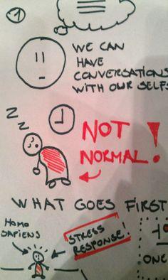Detalje af Sketch Note lavet til et oplæg af Chris MacDonald.