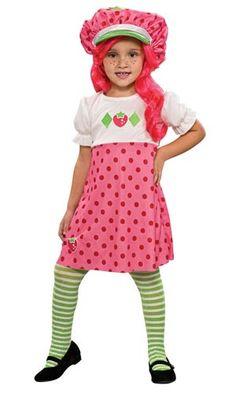 431579b812 Strawberry Shortcake Costume for Girls Strawberry Shortcake Halloween  Costume