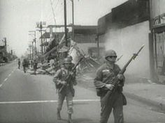 On August 11, 1965, LA's Watts Riots began in reaction to the arrest of a Black man for drunk driving, triggering days of rampage that damaged or destroyed more than 600 buildings and cost 34 lives. Proposition 14, overwhelmingly passed in 1964, banned attempts to desegregate housing and added to the desperation felt by many of LA's 650,000 African Americans, as racial equality was all but nonexistent and housing strictly segregated.
