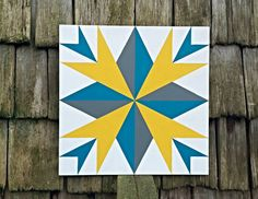 Check out this item in my Etsy shop https://www.etsy.com/listing/229439936/sunny-days-2-x-2-barn-quilt-square-hand
