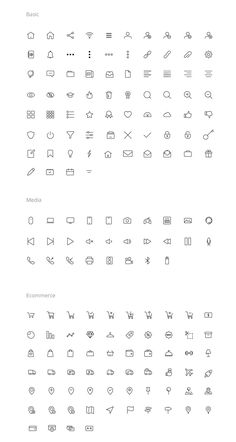 iconography-1 Bullet Journal Graphics, Bullet Journal Font, Small Drawings, Cute Drawings, I Icon, Icon Set, Icon Design, Web Design, Logo Design