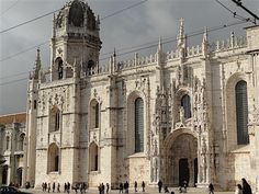 O lindo Mosteiro dos Jerônimos!
