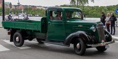 old chev flatbed truck