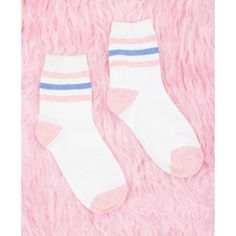Asking whether you should suit stockings onto the majority of each of your look? Look no further, we have got professional ideas right away. Fashion Socks, Cute Fashion, Striped Tube Socks, Cute Socks, Sock Shoes, Tights, Cute Outfits, Pastel, My Style