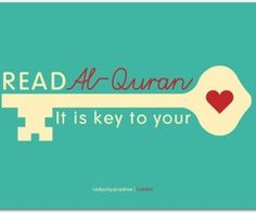 Quran-another key to my life