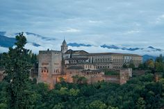 Amazing view of Alhambra