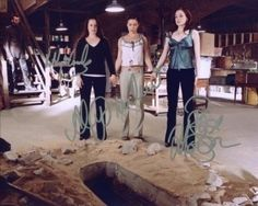 Charmed+Cast | CHARMED CAST OF 3 SIGNED AUTOGRAPH REPRINT THE NEXUS