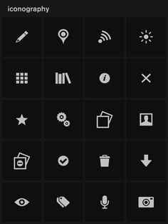 Lytro icon set. Lead designer / CD: Jason Wilson