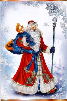 °‿✿⁀ Grandfather Frost ‿✿⁀°'