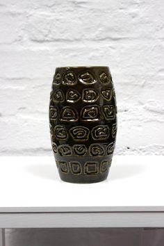 Vintage+Keramik+Vase+Blumenvase+Germany+Mid+Century+von+MellowPlace
