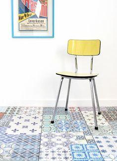 R interpr tation du motif des carreaux de ciment on pinterest interieur tile and catalog - Saint maclou tegelcement ...