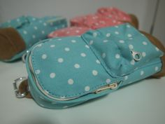 Light Blue polka dot! Dimensions: 17 cm(Height) X 9 cm(Width) #hilivre #polkadot #pink #lightblue #pencilcase #stationery