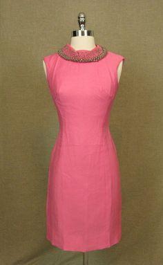 1950s Dress Suit/ Vintage 50s Pink Dress Suit by AmouretteVintage