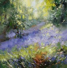 Rex PRESTON-Bluebells, Shining Cliff Woods