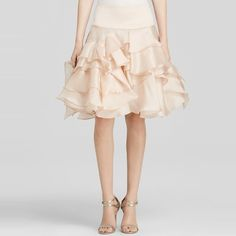 Milly Tara Satin Organza Full Skirt #rankandstyle http://www.rankandstyle.com/top-10-list/best-holiday-party-hopping-fashion/ Party hop till you drop this holiday season with some seriously sweet fashion you won't want to miss! Use our data-driven list as the only guide you need to expertly outfit yourself for every upcoming soiree under the sun. Full of sequined minis and sleek and modern favorites, scroll through to never have nothing to wear again.