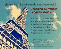 Coaching de francés ingreso traductorado y profesorado Lenguas Vivas Juan Ramón Fernández. Buenos Aires. Profesoras nativas. DELF B1. DELF B2